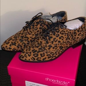 Brand new! Size 9.5 Leopard Flats!